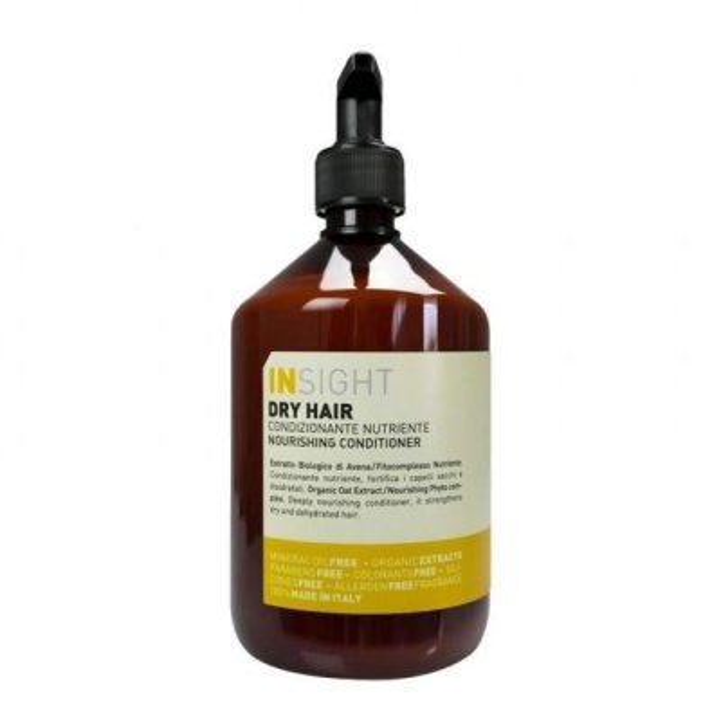 INSIGHT Dry Hair Kuru Saçlar İçin Parabensiz Besleyici Krem 400ml