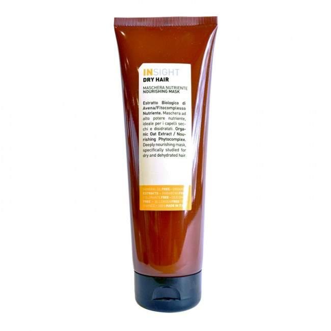 INSIGHT Dry Hair Kuru Saçlar İçin Parabensiz Besleyici Maske 250ml